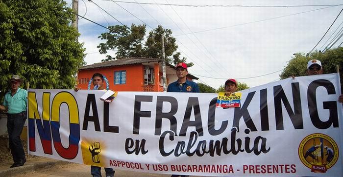 Rechazan en Colombia uso del fracking