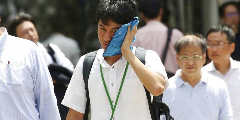 Registra Japón su mayor temperatura de la historia, por ola de calor