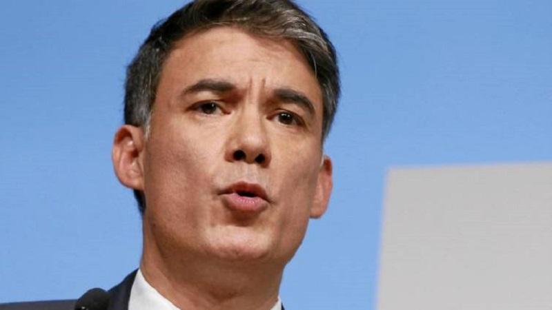 El presidente del Partido Socialista, Olivier Faure