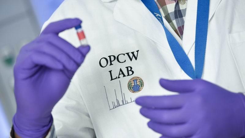 Ausencia de armas químicas en Siria según OPAQ