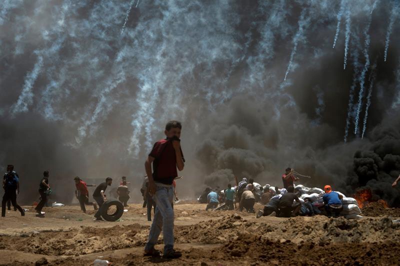 Considera Rusia aberración acusar a palestinos de violencia en Gaza