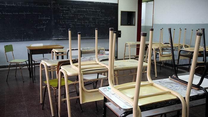 Educadores bonaerenses anuncian paro en Argentina