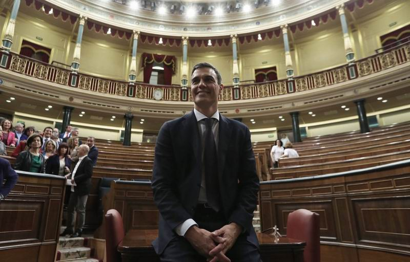 Pedro Sánchez, the new President of Spain