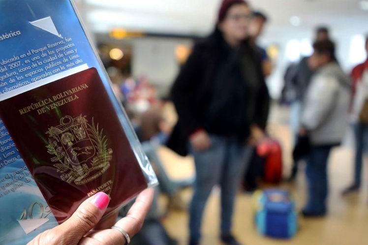 Más venezolanos repatriados con el Plan Vuelta a la Patria