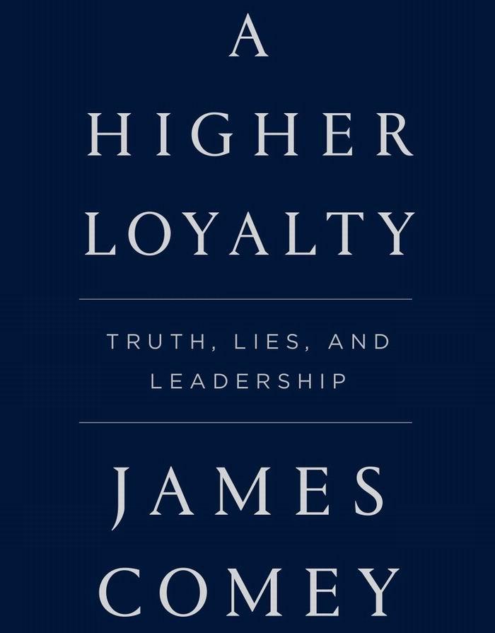 Libro Una Mayor Lealtad de James Comey