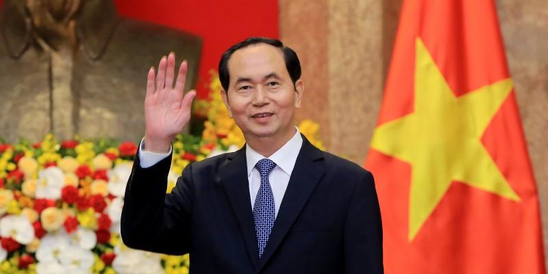 Decretan duelo oficial en Cuba por la muerte del presidente vietnamita