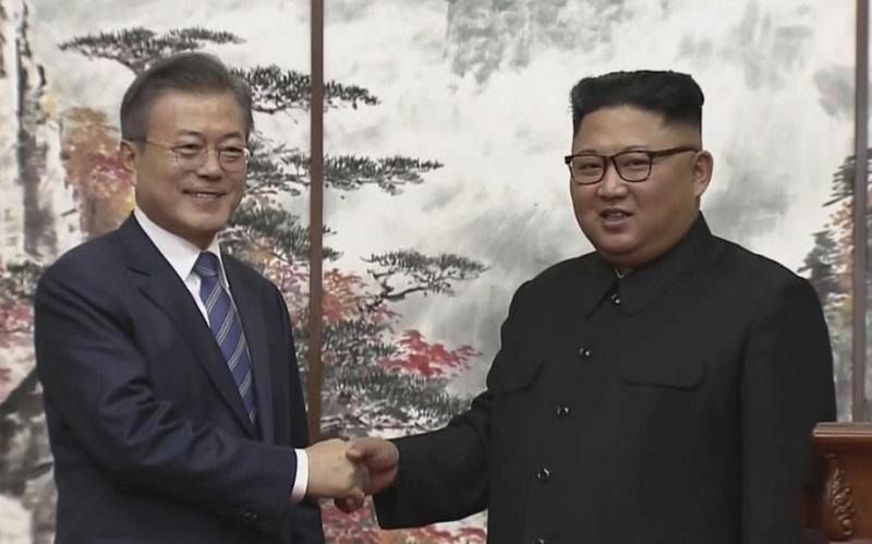 Logran los presidentes de las dos Corea importantes acuerdos