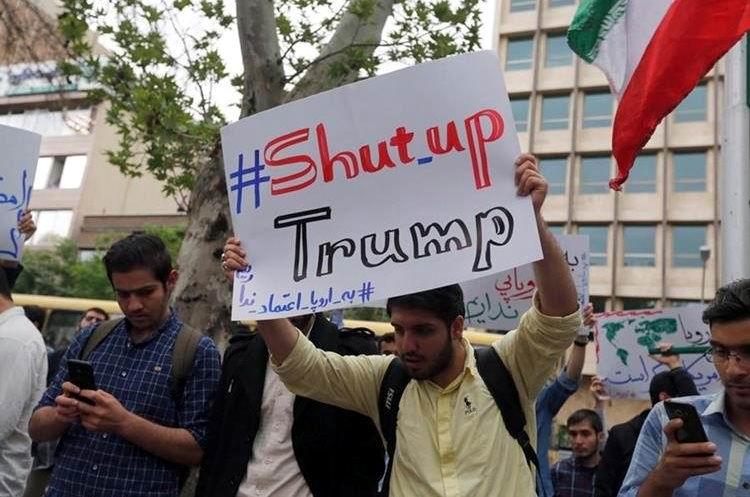 Iraníes se oponen a sanciones de Estados Unidos