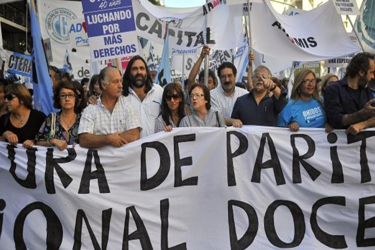 Comienza hoy una semana clave para los docentes argentinos