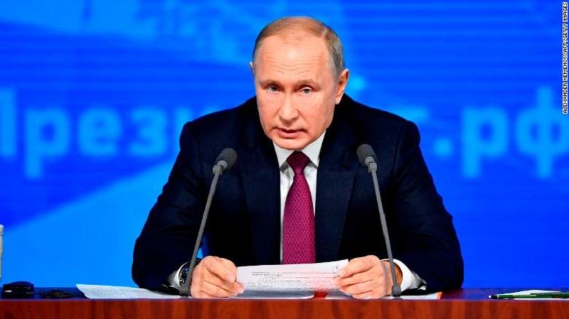Acusa Putin a Estados Unidos de aumentar riesgos de una guerra nuclear