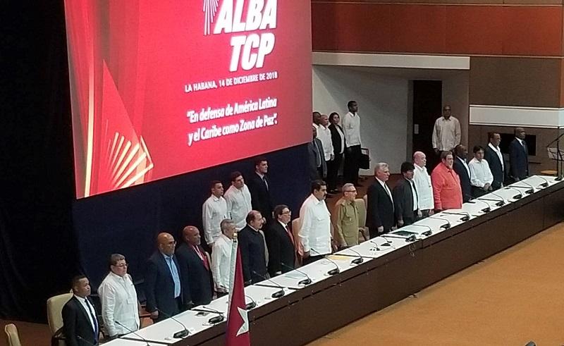 Asiste Raúl Castro acto por el aniversario 14 de ALBA-TCP
