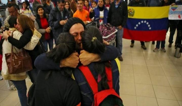 Regresan a Venezuela más de 10 500 repatriados por Plan Vuelta a la Patria