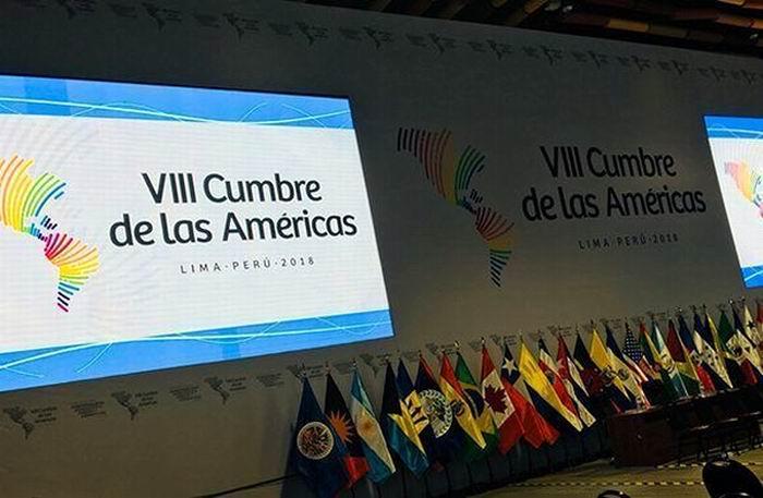 Cumbre de las Américas: realizaron protesta anti-imperialista en Lima