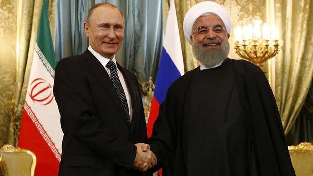 Se unen Rusia e Irán contra las sanciones de Estados Unidos
