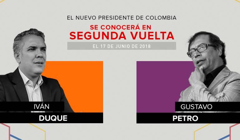 Celebra mañana Colombia segunda vuelta de elecciones presidenciales