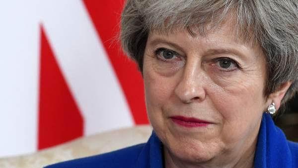 Primera ministra del Reino Unido, Theresa May. Foto: EFE
