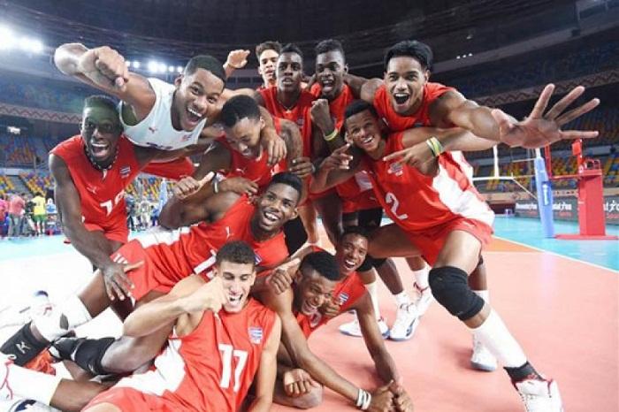 No cede Cuba en Copa Panamericana de voleibol