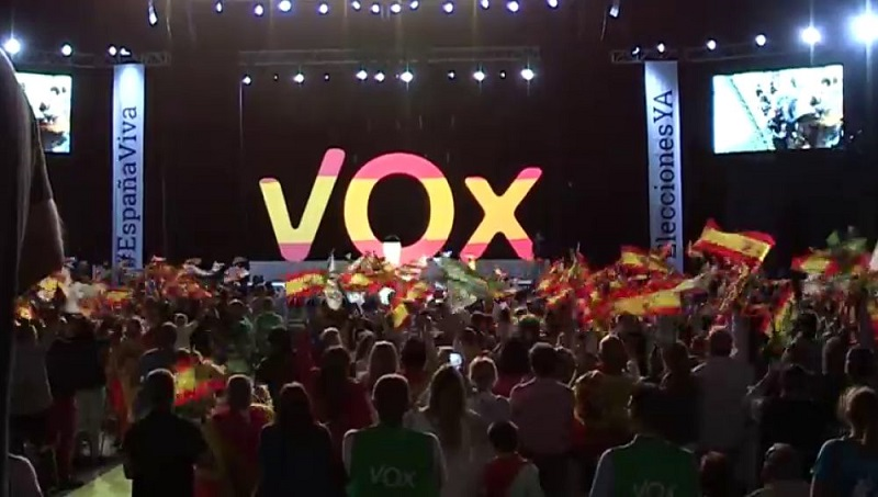 Resultado de imagen para vox españa site:radiorebelde.cu