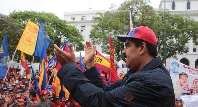 Trabajadores venezolanos comprometidos a defender su Revoluci�n
