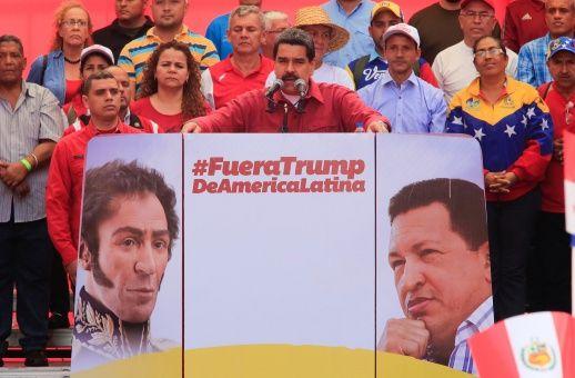 """Nicolás Maduro: """"Amenazas de Trump, el más grave error contra nuestra región"""" (+Audio)"""