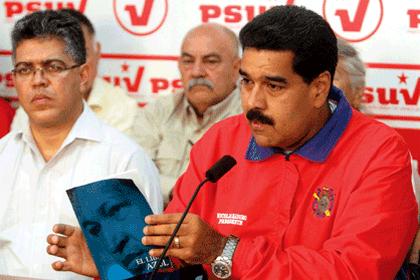 El presidente venezolano Nicolás Maduro se reunió con la directiva del Partido Socialista Unido de Venezuela (PSUV)
