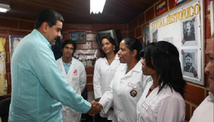 Destaca Maduro colaboración cubana en formación de médicos venezolanos