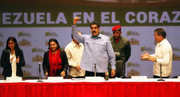 Maduro celebra aniversario 15 de convenio Cuba-Venezuela. Foto AVN