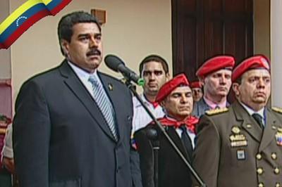 El presidente encargado de Venezuela, Nicolás Maduro, destacó este viernes el legado del líder de la Revolución Bolivariana. Foto Telesur