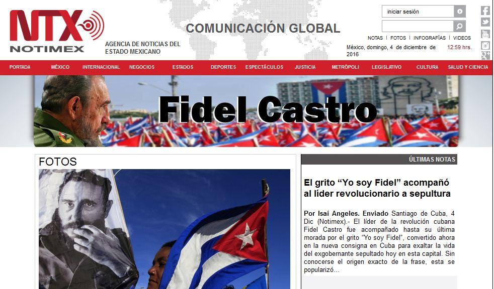 Prensa internacional resalta compromiso de los cubanos con legado de Fidel