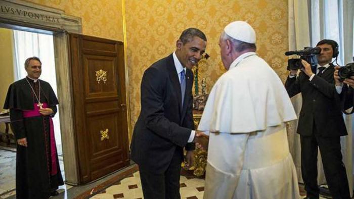 Barack Obama recibirá al Sumo Pontífice en la Casa Blanca