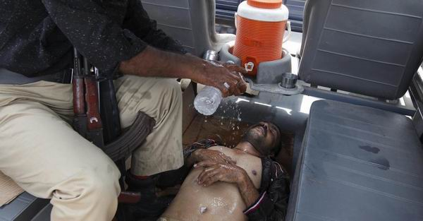 En Pakist�n, el calor