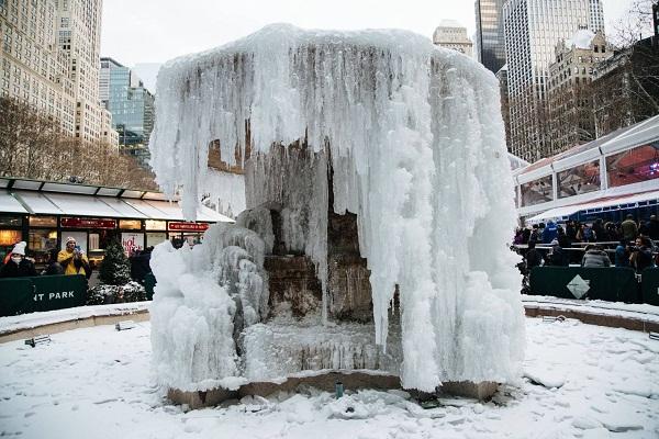 Azota a Estados Unidos ola de frío polar (+Fotos)