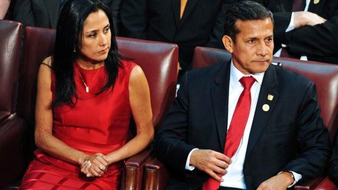 Prisión preventiva para el expresidente Ollanta Humala y su esposa Nadine Heredia. Foto: AFP