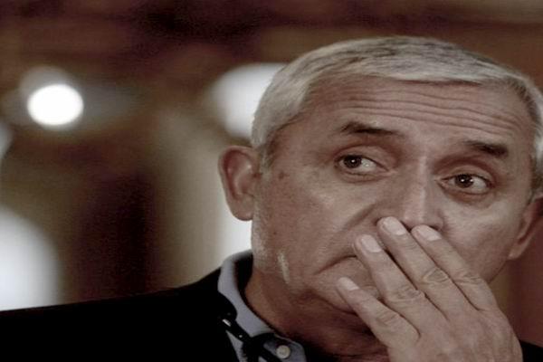 Orden de captura para el presidente de Guatemala
