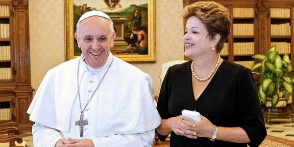 La visita del Papa Francisco, est� revestida de una importancia hist�rica y tiene un significado especial para Am�rica Latina, asegur� recientemente la presidenta Dilma Rousseff.