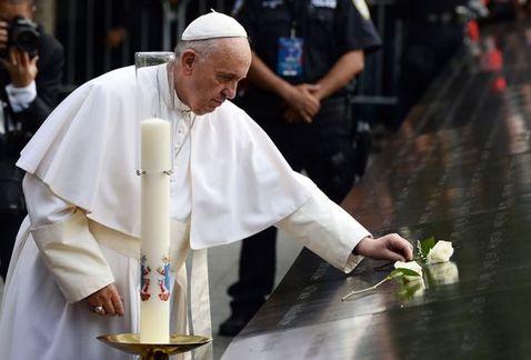 Discurso del Papa Francisco en el Encuentro Interreligioso celebrado en el Memorial dedicado a las víctimas del 11 de Septiembre de 2001