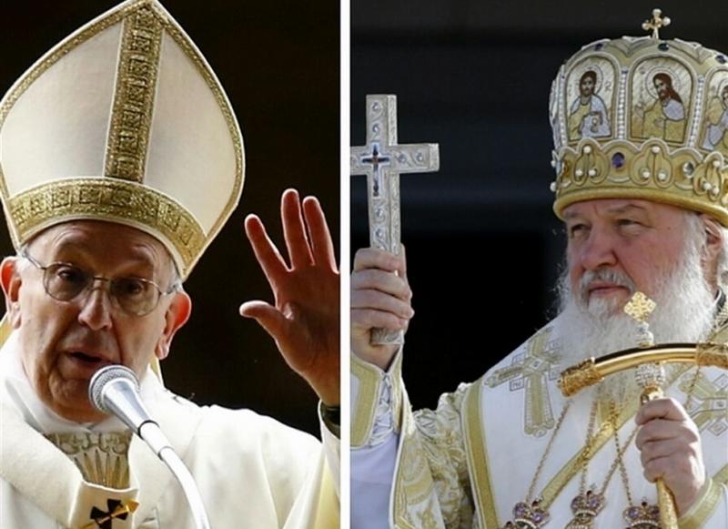 Papa Francisco y el Patriarca Kiril
