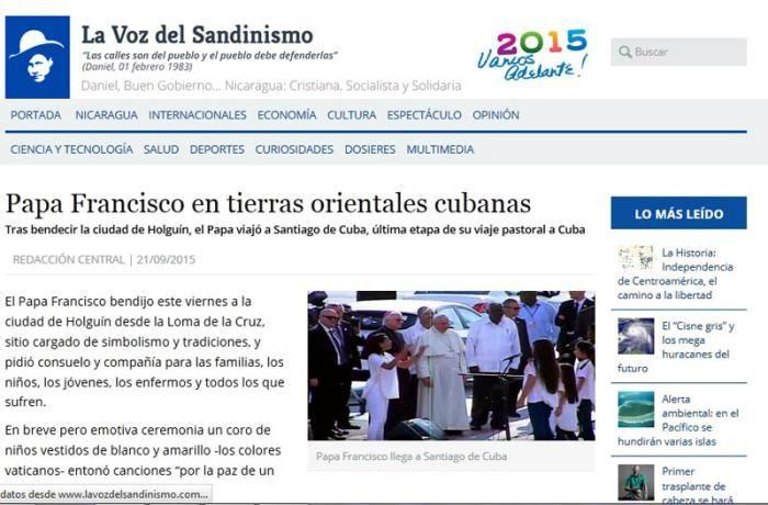 Amplia repercusión de la visita del Papa Francisco a Cuba