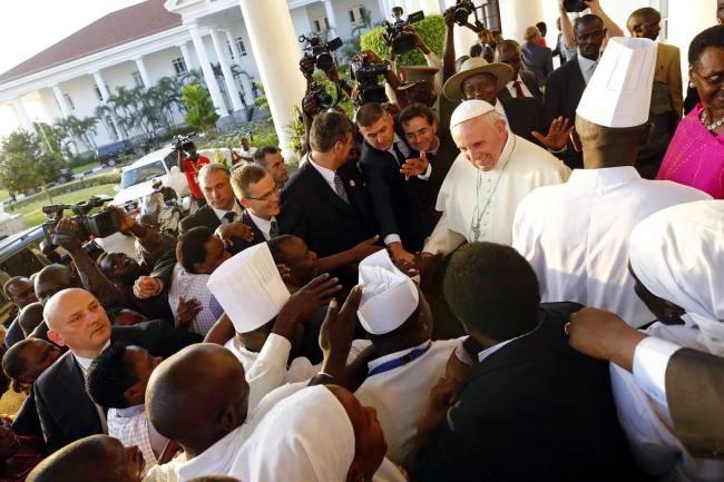 Pidi� el Papa Francisco paz para Rep�blica Centroafricana y el mundo
