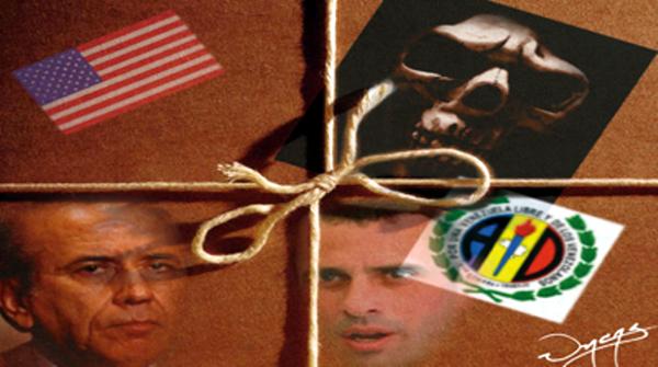 """La guerra sucia crece y trata de ampliarse: """"La derecha  pretende convencer a diplomáticos del supuesto triunfo de Capriles el 7-O"""","""