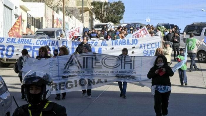 Docentes argentinos en paro