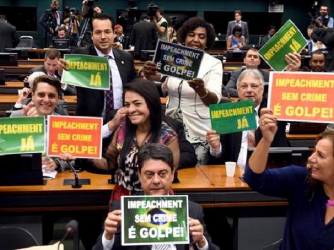 Preámbulos de eventual golpe de Estado parlamentario en Brasil