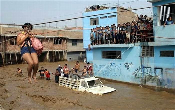 Around 90 People Dead by Rains in Peru