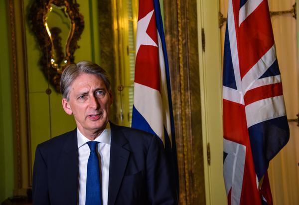 Aboga canciller británico por levantamiento del bloqueo