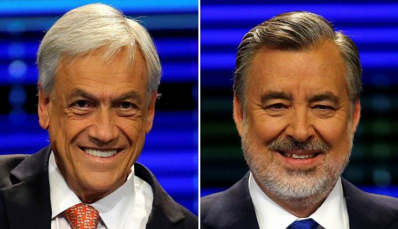 Sebastían Piñera and Guillier to the second Electoral Round