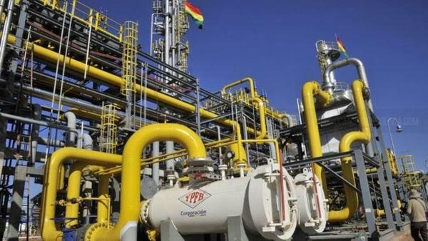 Bolivia, nueva planta de gas