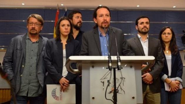 Podemos por moción de censura contra Mariano Rajoy