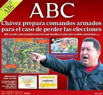 Al juego sucio de la guerra mediática, se suma Emili J. Blasco, corresponsal en Washington, del periódico digital ABC.es, quien de la mano del imperio que lo cobija «descubre» el supuesto plan chavista, bajo el título: «Chávez activa una red de comandos armados ante un posible voto adverso»