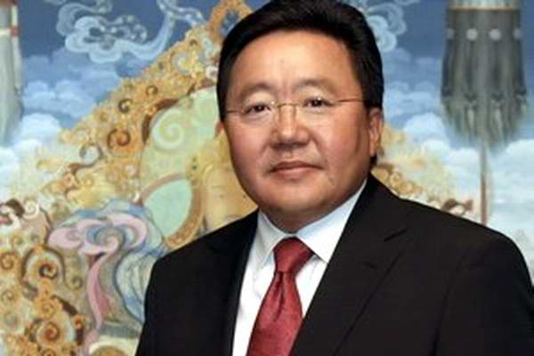Presidente mongol demanda cese de bloqueo de EE.UU. contra Cuba