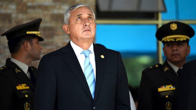 Sin inmunidad presidente de Guatemala